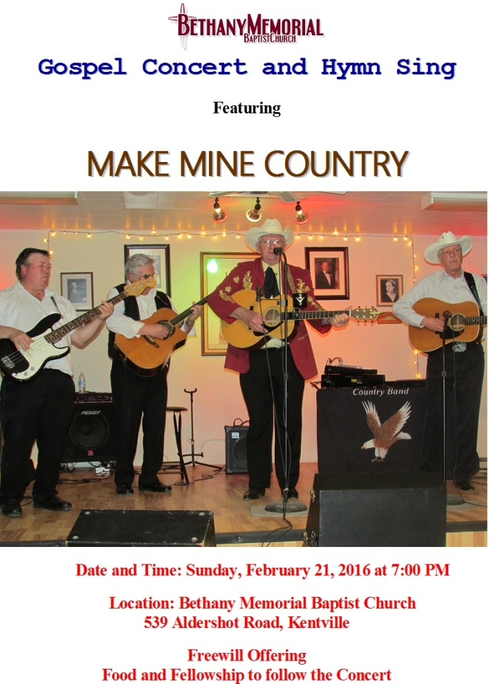 make mine country poster