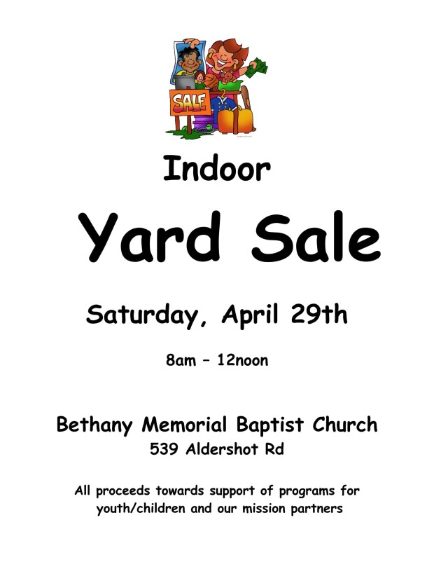 Yard Sale poster 2017-1