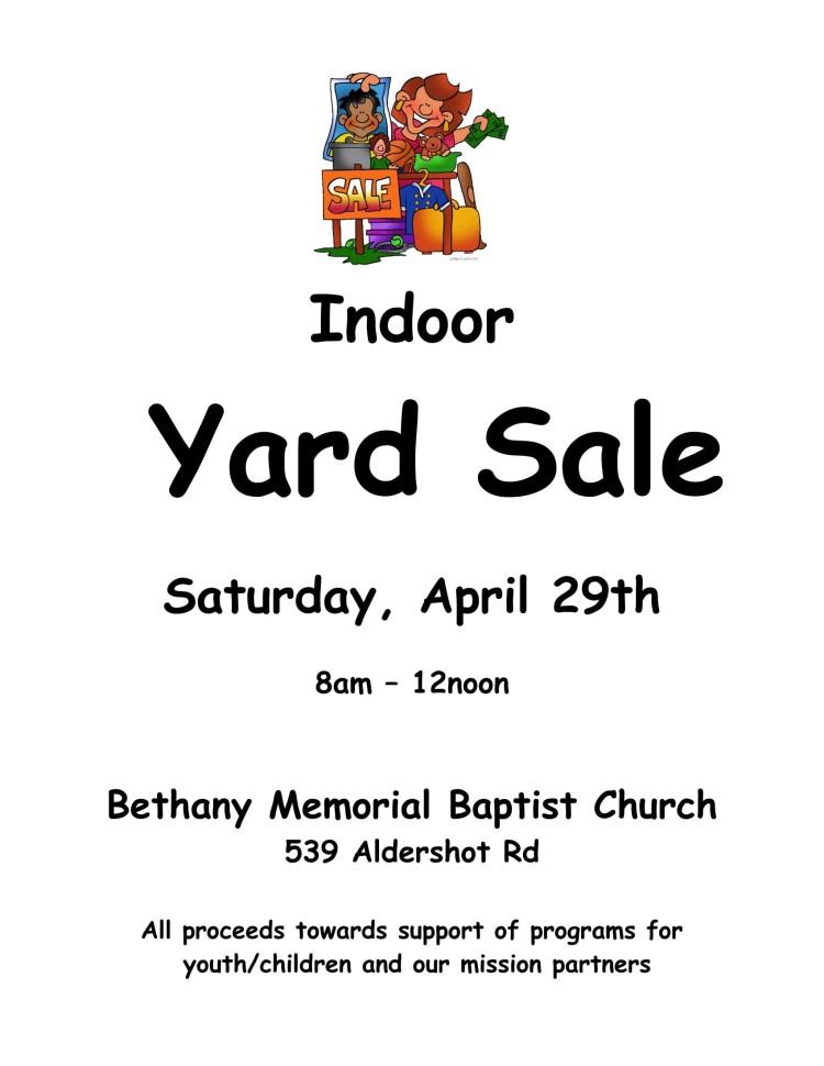 Yard Sale poster 2017-1